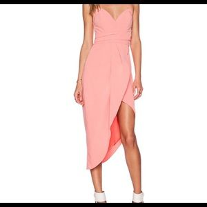 Nwt lovers and friends strapless dress